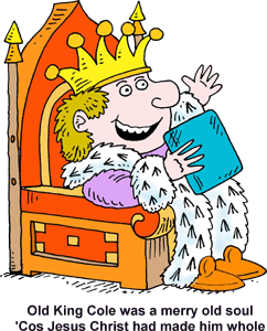 Clipart king on throne 2