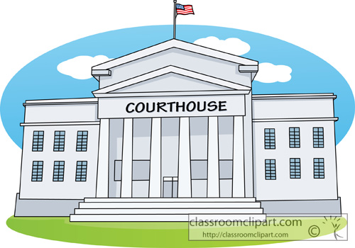 Courthouse clipart 2