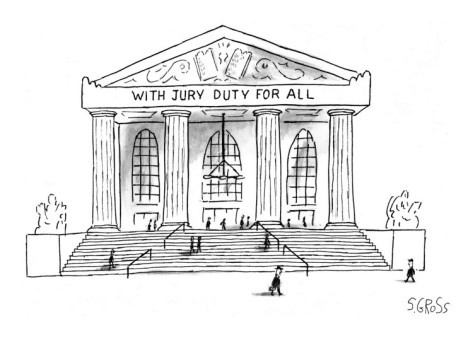 Courthouse jury duty clipart