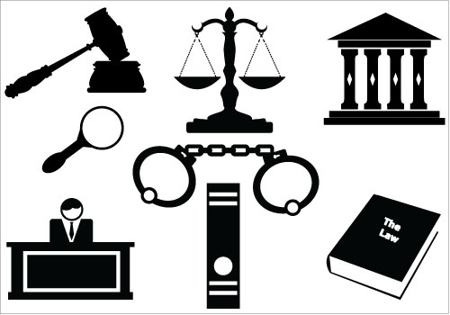 Courthouse law house clipart 2