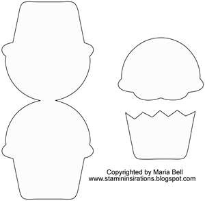 Cupcake outline 0 images about cupcakes and popcorn on valentine
