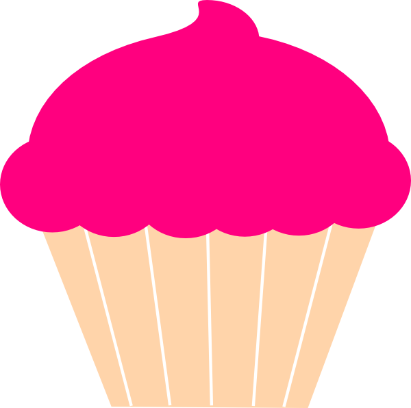 Cupcake outline clip art clipart 4