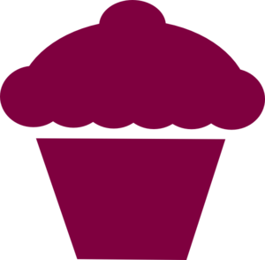Cupcake outline clipart black and white free 4