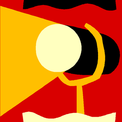 Employee spotlight clipart 2