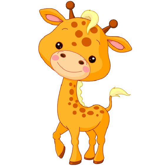 Free baby jungle animals clipart