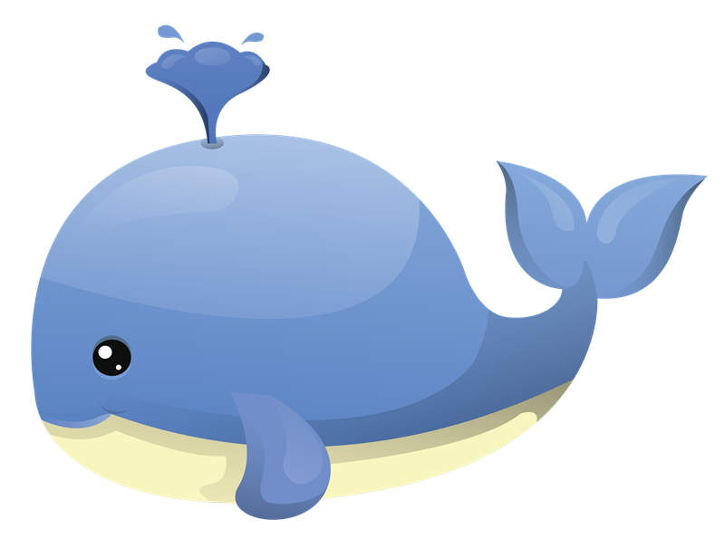 Free baby whale clipart 2