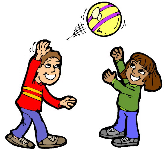 Free clip art children playing clipart images