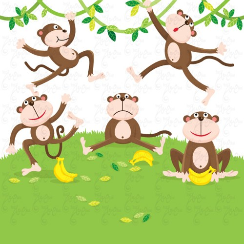Free george of the jungle clipart 3