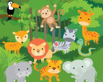 Free jungle clip art pictures 2