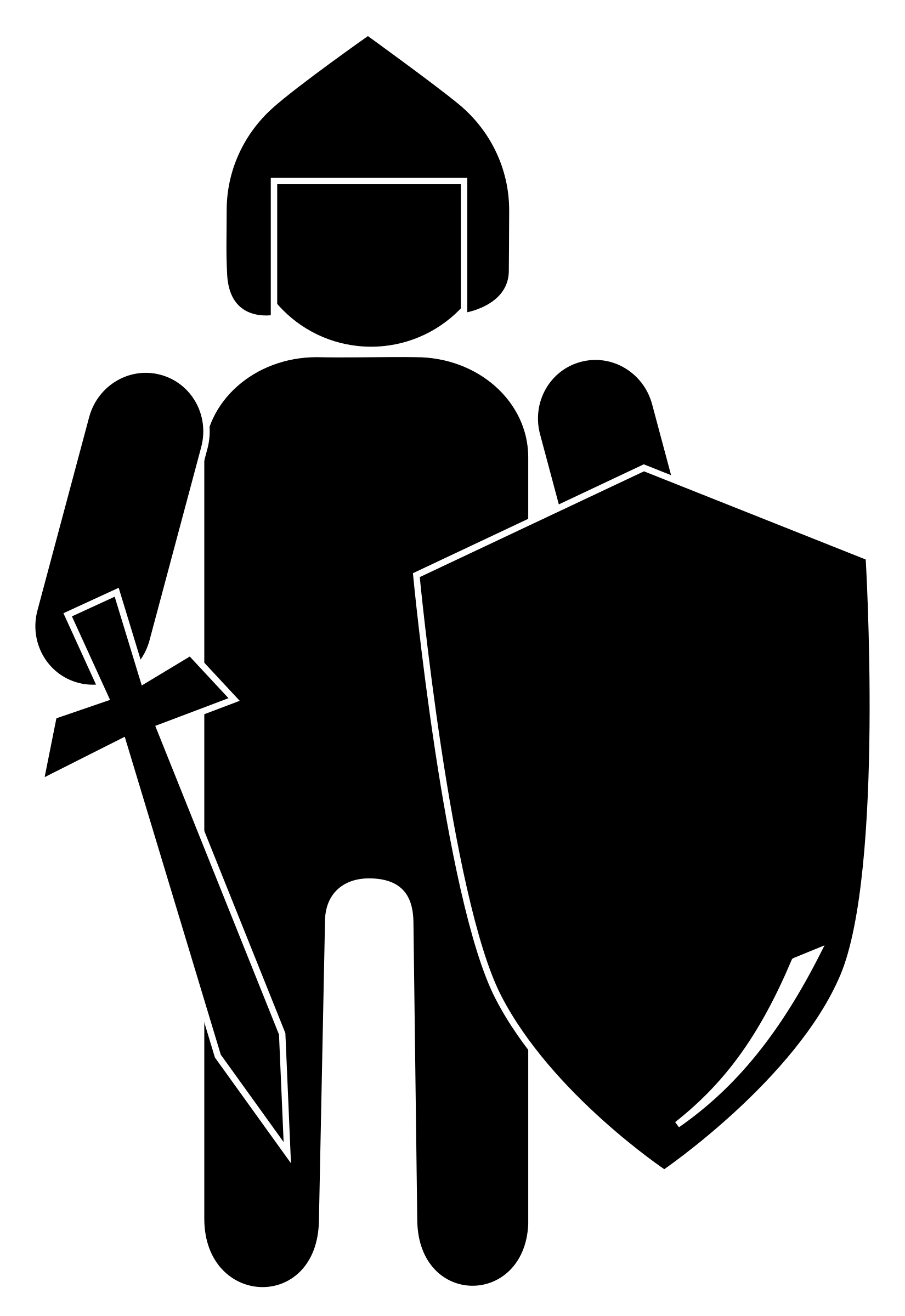 Free knight clipart the cliparts