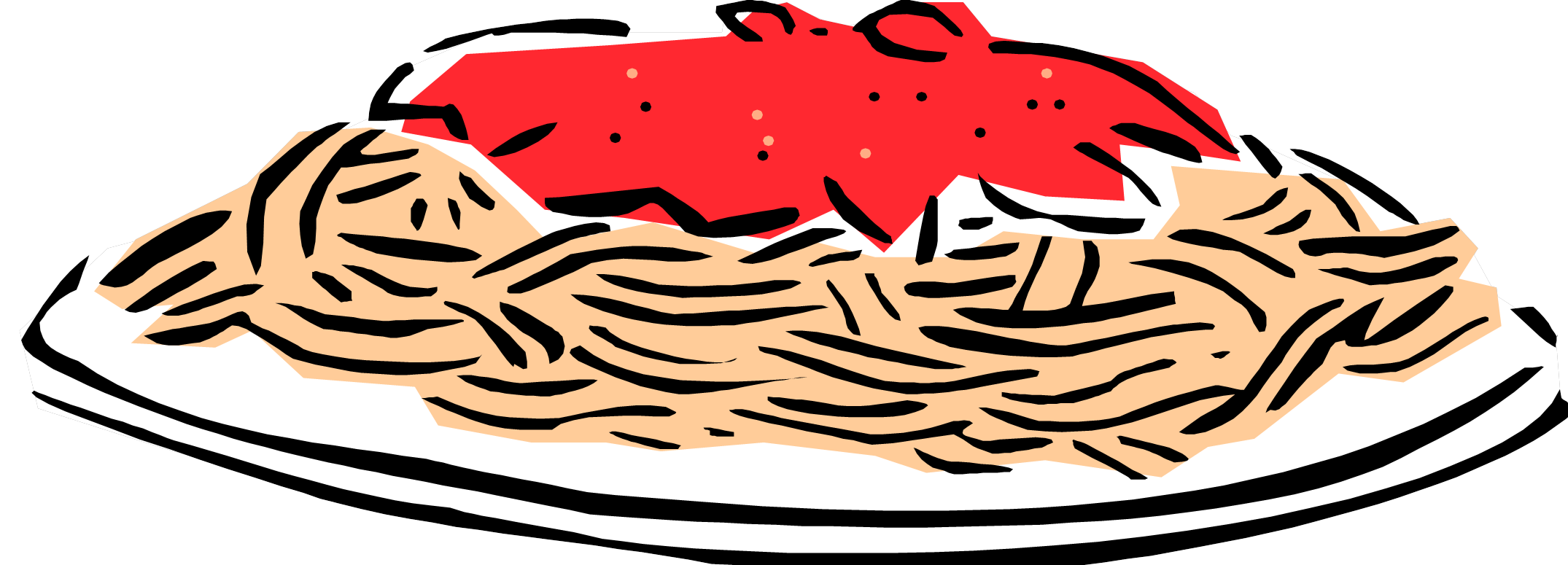 Free spaghetti clipart images