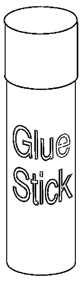 Glue stick clip art 2