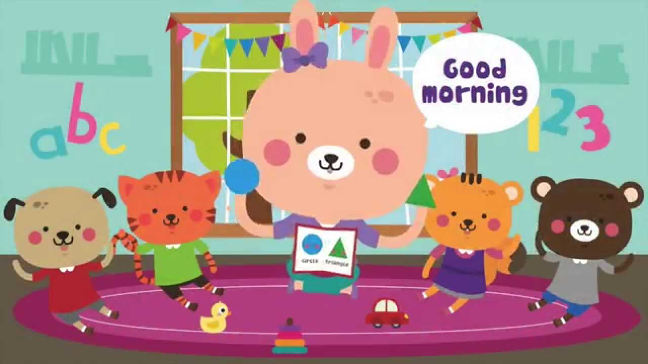 Good morning song songs for kids circle time the clipart