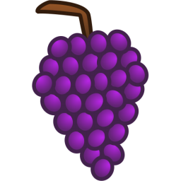 Grapes clipart black and white free images