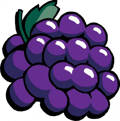 Grapes clipart free images 2