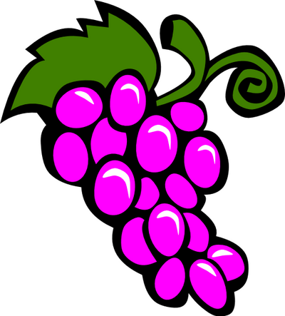 Grapes clipart free images 4