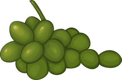 Grapes clipart free images 8