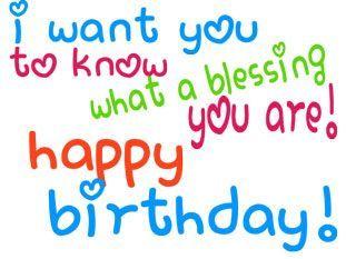 Happy birthday blessings clip art happy