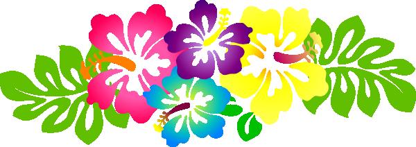 Hawaiian border clip art