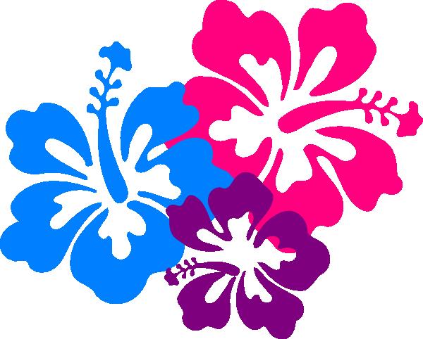 Hawaiian flower clip art borders free clipart images 2