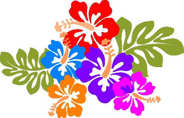 Hawaiian hawaii luau clipart