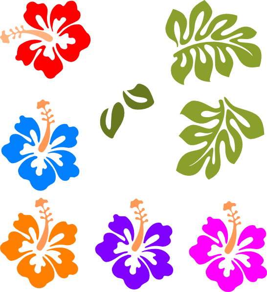 Hawaiian luau clip art free clipart images