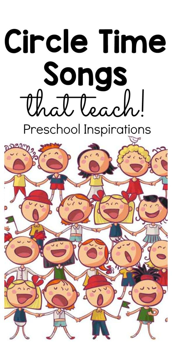 Ideas about circle time songs on preschool clipart 2