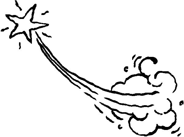 Ideas about shooting star clipart on 7