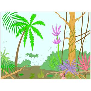 Jungle clip art 2