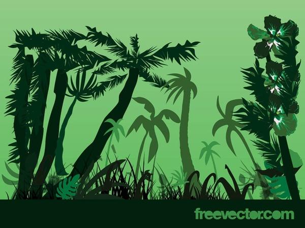 Jungle clip art free clipart