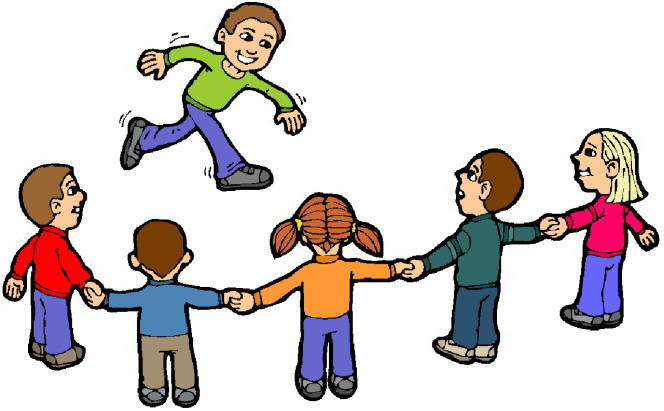 Kids playing summer clipart free images