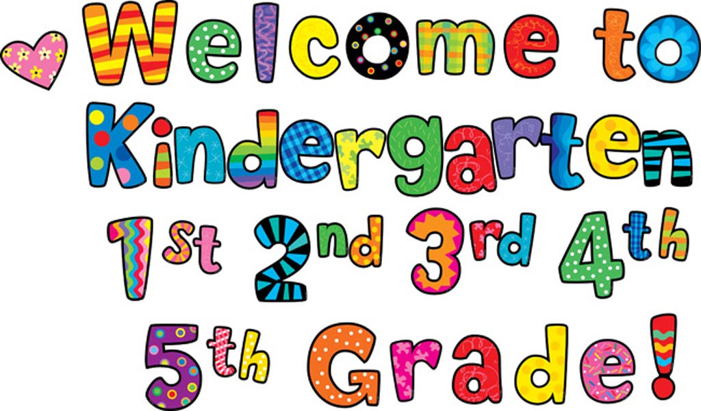 Kindergarten borders clipart