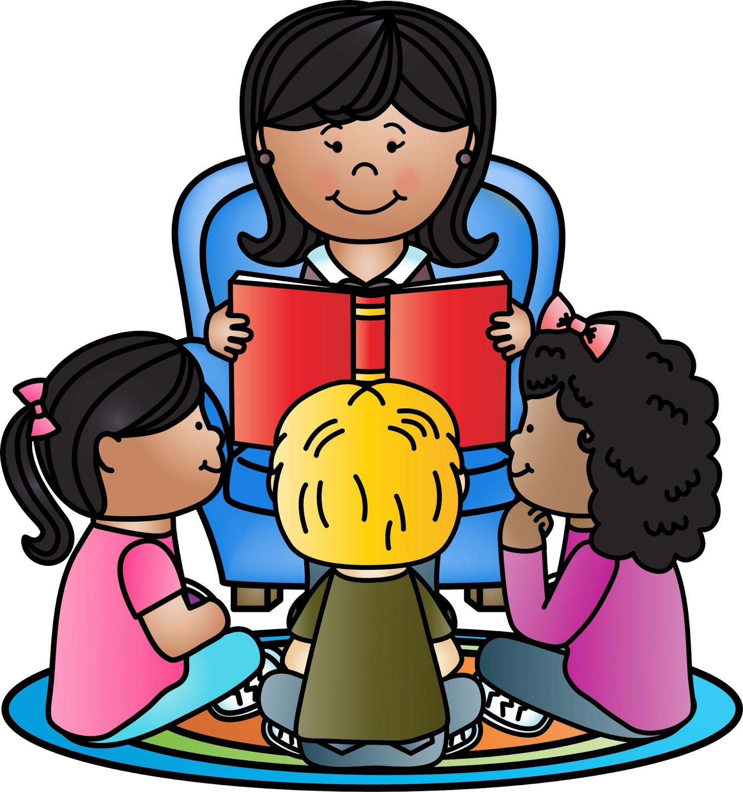 Kindergarten reading clip art clipart