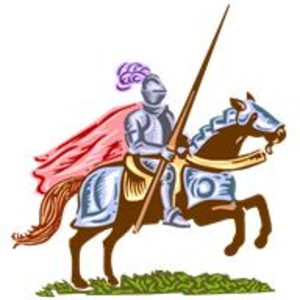 Knight clipart 2