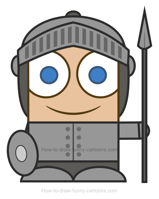 Knight clipart 6