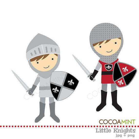 Knights clip art free clipart images