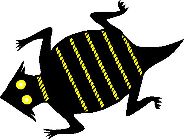 Lizard clip art free vector 4vector 3