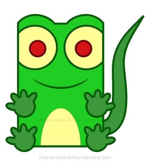 Lizard clipart 5