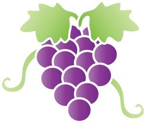 More grapes clip art download