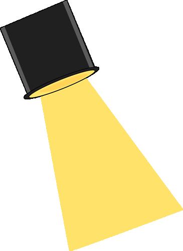 Movie spotlight clipart 3