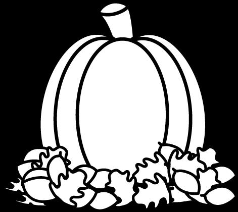 Pumpkin  black and white black and white pumpkin clipart transparent