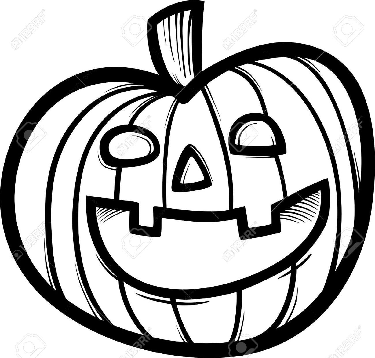Pumpkin  black and white pumpkin black and white halloween pumpkin clipart 2