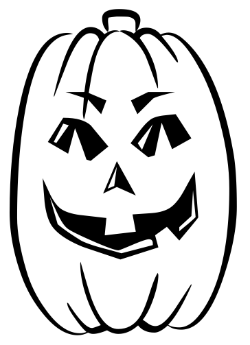 Pumpkin  black and white pumpkin clipart black and white