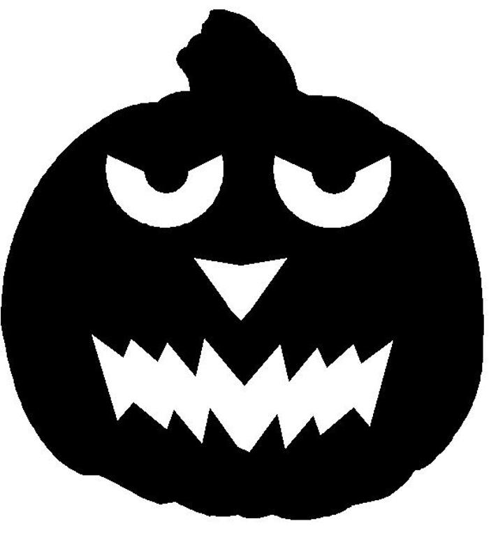 Pumpkin  black and white scary pumpkin black and white clipart 3