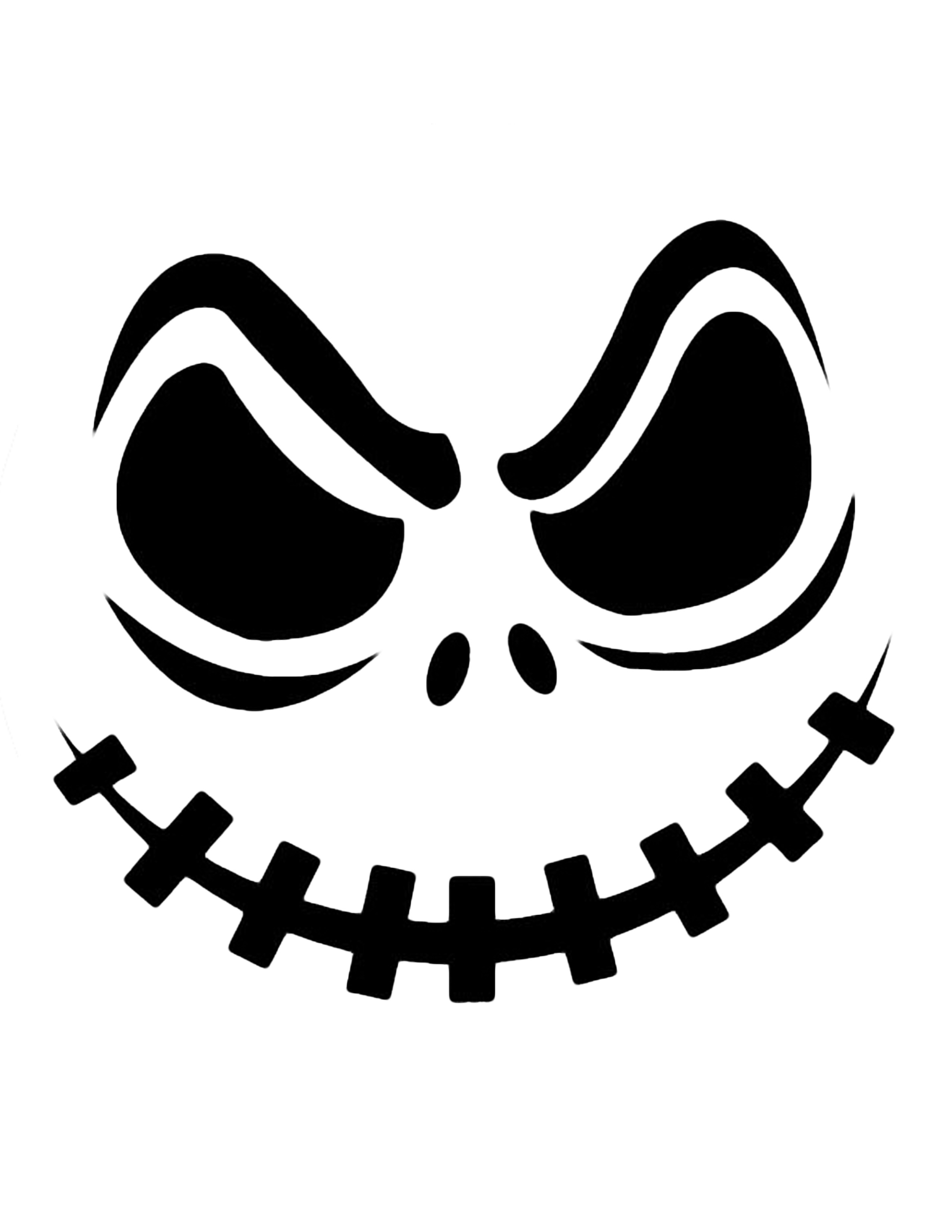 Pumpkin  black and white scary pumpkin clipart black and white