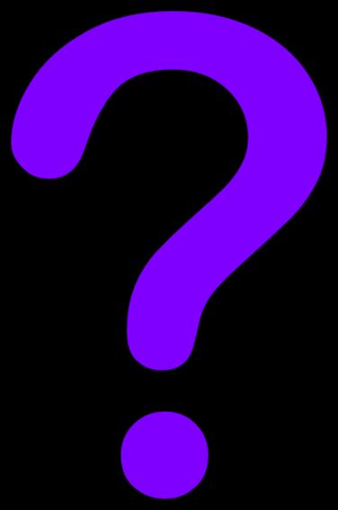 Purple question mark clipart 3