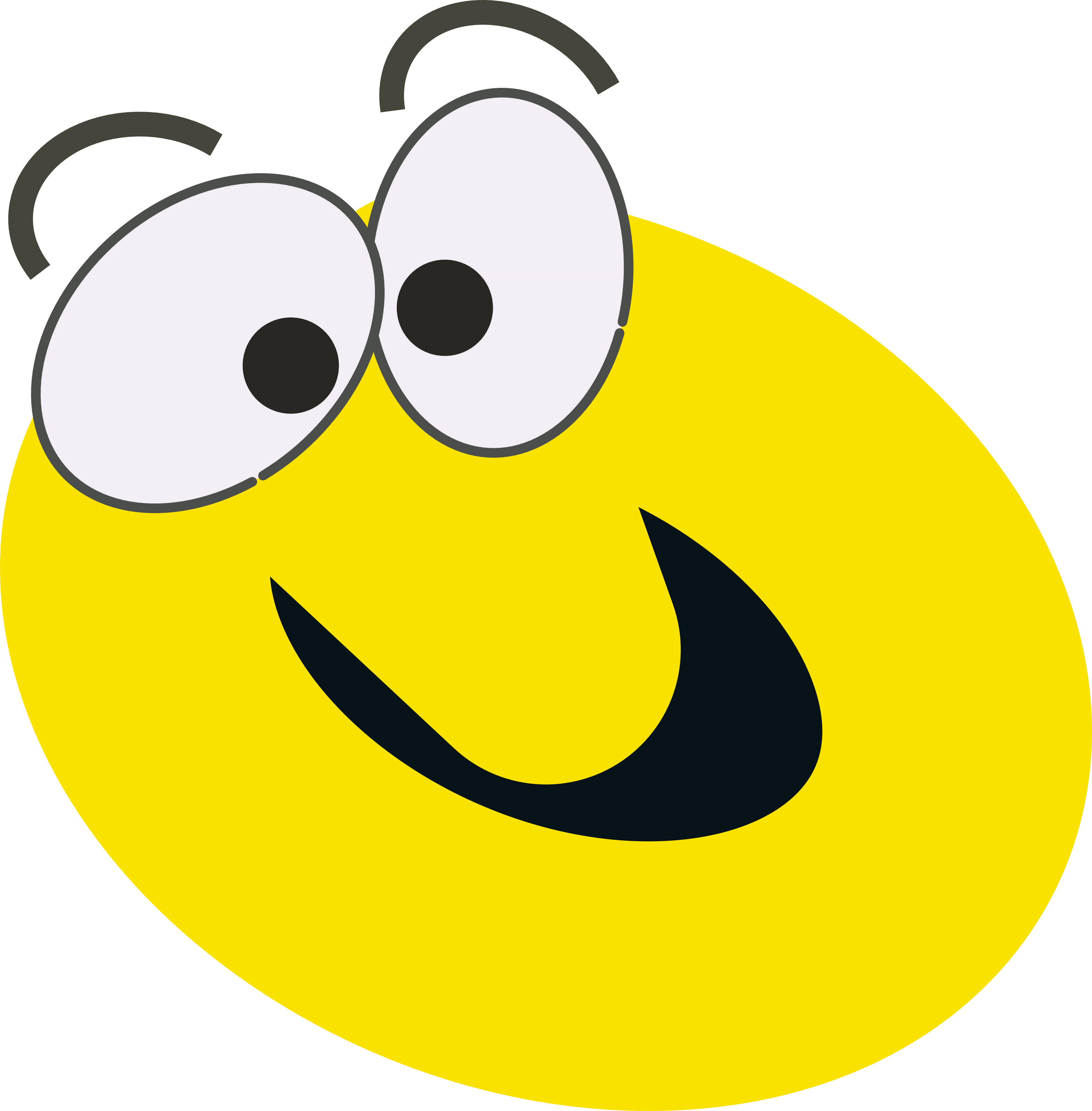 Rolling on the floor laughing smiley face free clip art