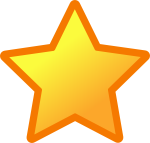Shooting star clipart 3