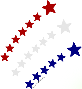 Shooting star clipart black and white free