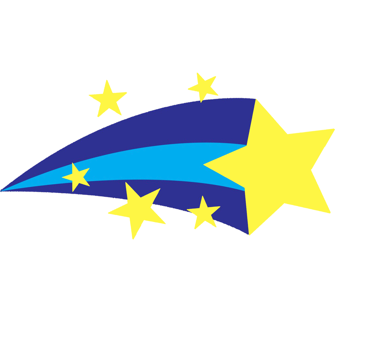 Shooting star images clip art
